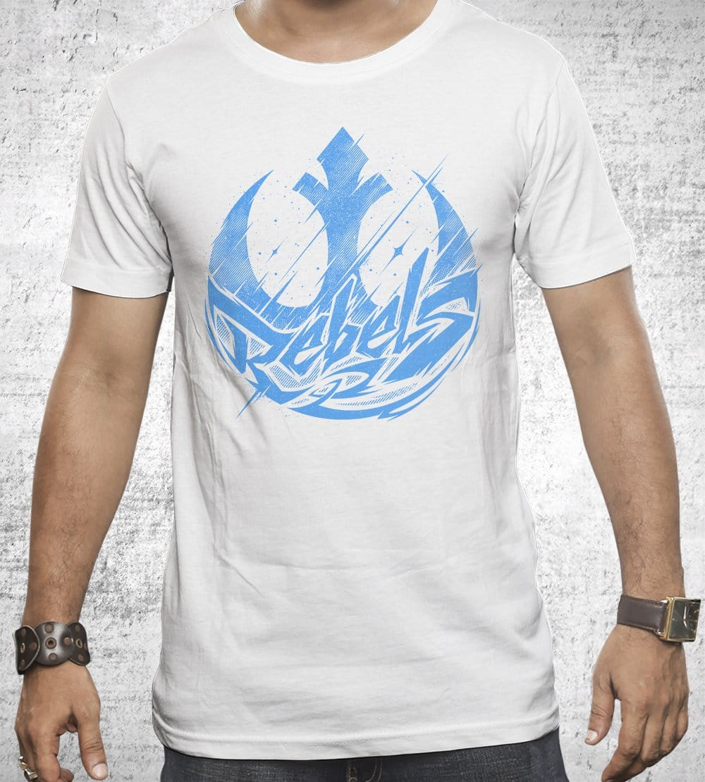 Rebels T-Shirts by StudioM6 - Pixel Empire