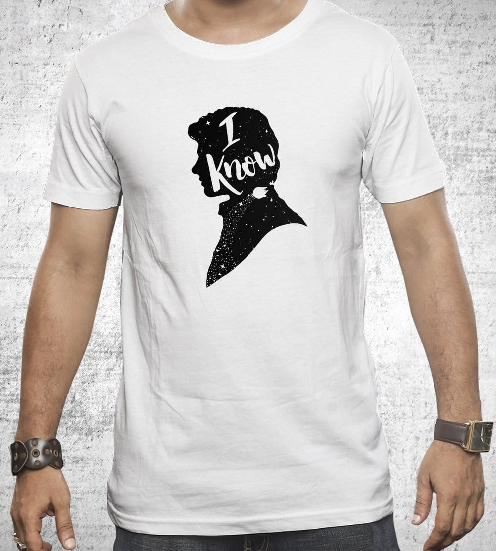 I Know T-Shirts by Creative Outpouring - Pixel Empire