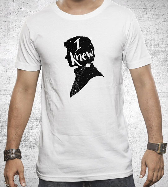 I Know Men's Shirt by Creative Outpouring - Pixel Empire
