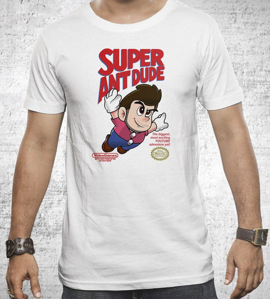 Super AntDude Men's Shirt by AntDude - Pixel Empire