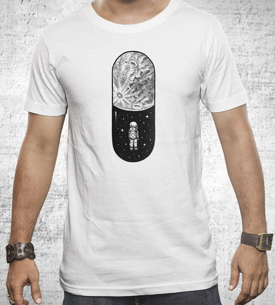 Space Capsule T-Shirts by Enkel Dika - Pixel Empire