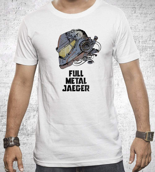 Full Metal Jaeger Men's Shirt by Creative Outpouring - Pixel Empire