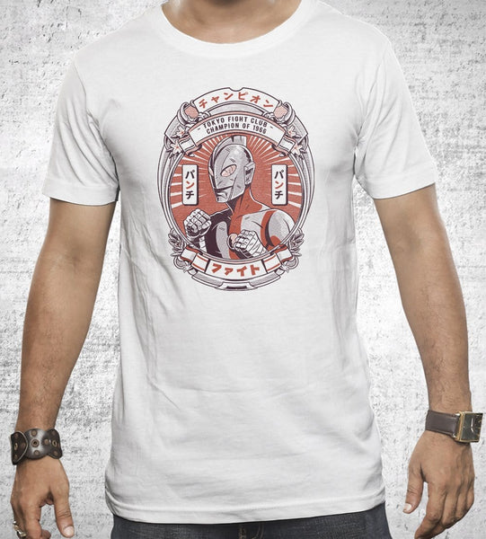 Tokyo Fight Club Men's Shirt by Ilustrata - Pixel Empire