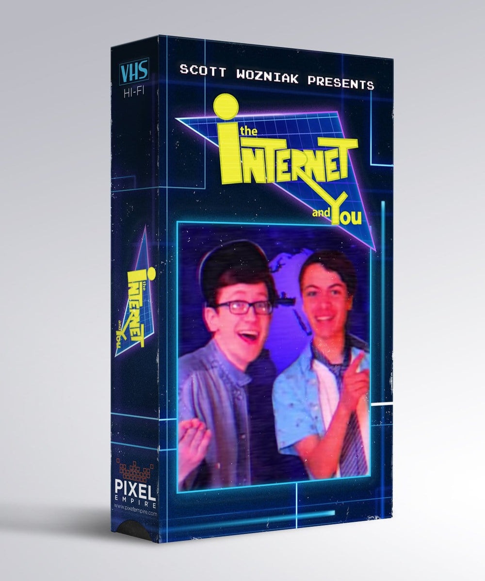 The Internet and You VHS VHS by Scott the Woz - Pixel Empire