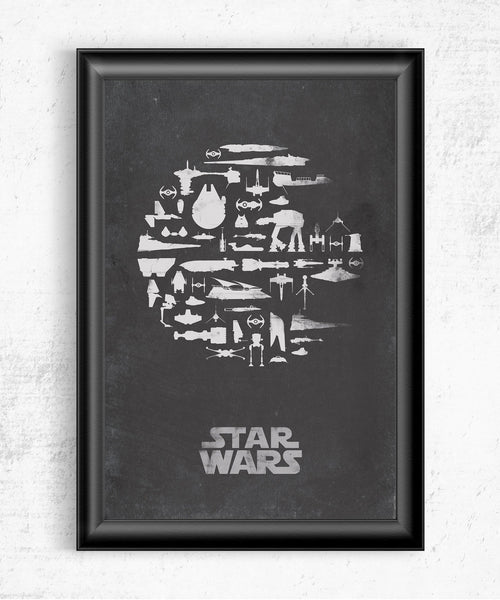 That's No Moon Posters- The Pixel Empire