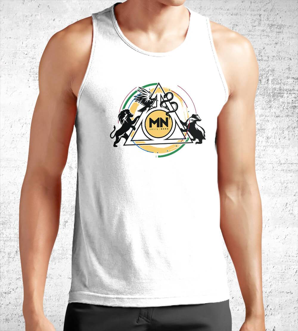 Muscle Nerd Houses Tank Tops by Muscle Nerd - Pixel Empire