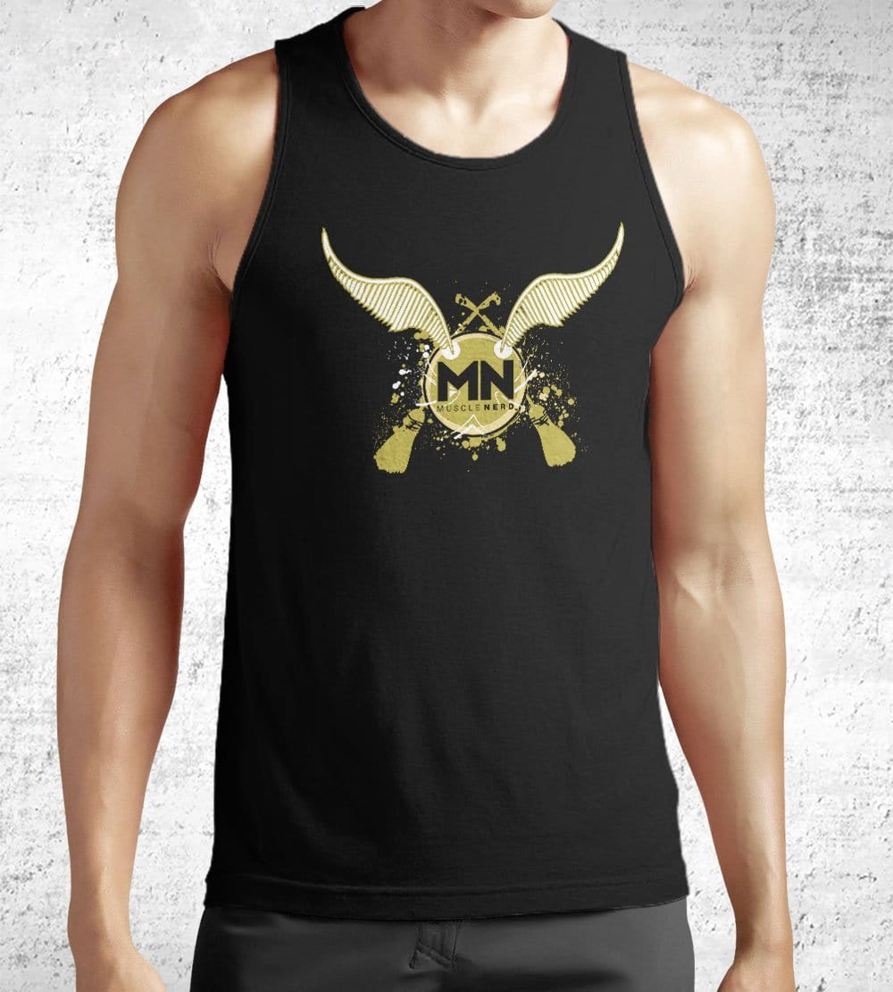 Muscle Nerd Snitch Tank Tops by Muscle Nerd - Pixel Empire