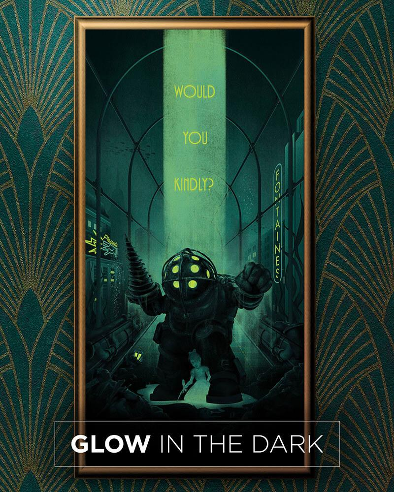 Would You Kindly - Glow in the Dark