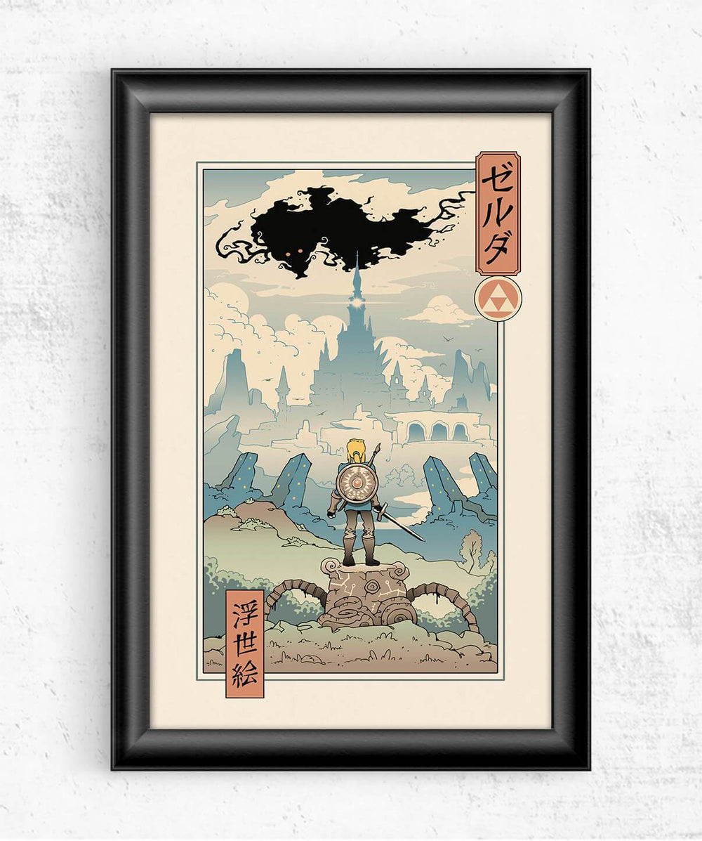 The Legend of Ukiyo Posters by Vincent Trinidad - Pixel Empire