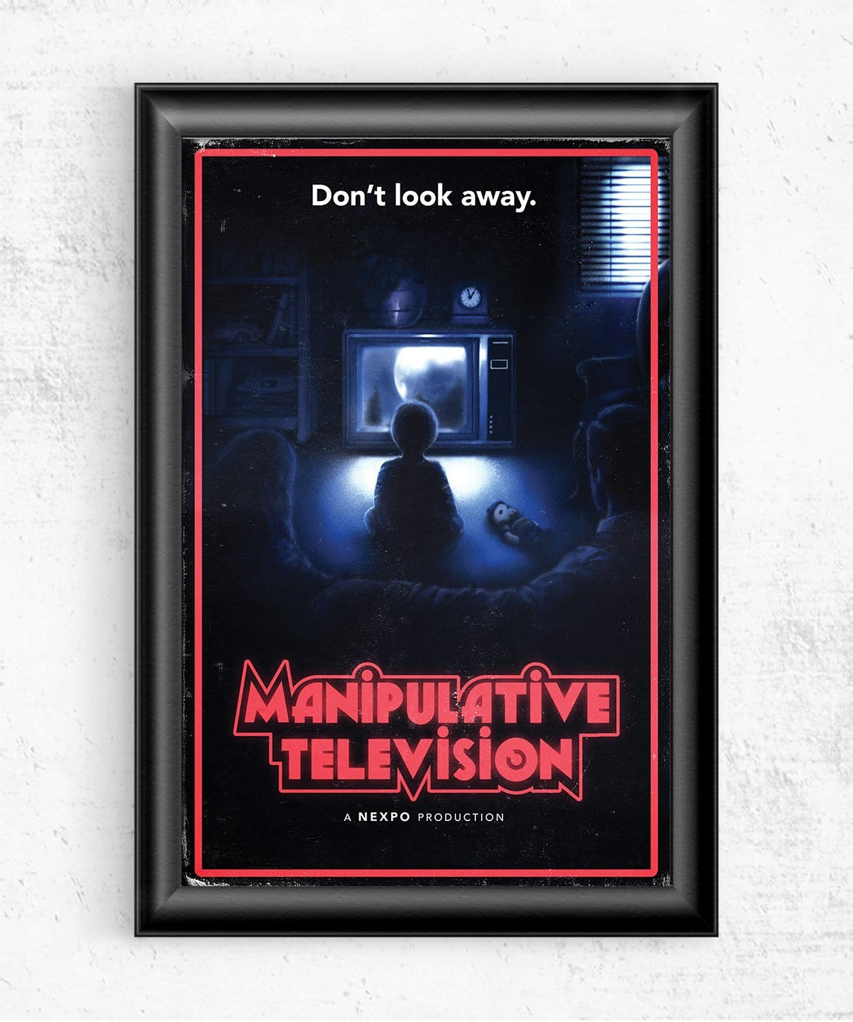 Manipulative Television Posters by Nexpo - Pixel Empire
