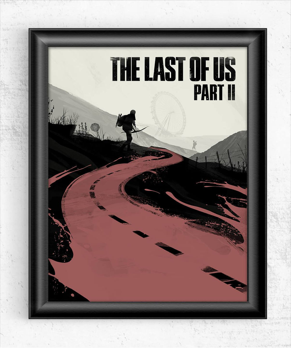 The Last of Us Part II - Road to Revenge Posters by Felix Tindall - Pixel Empire