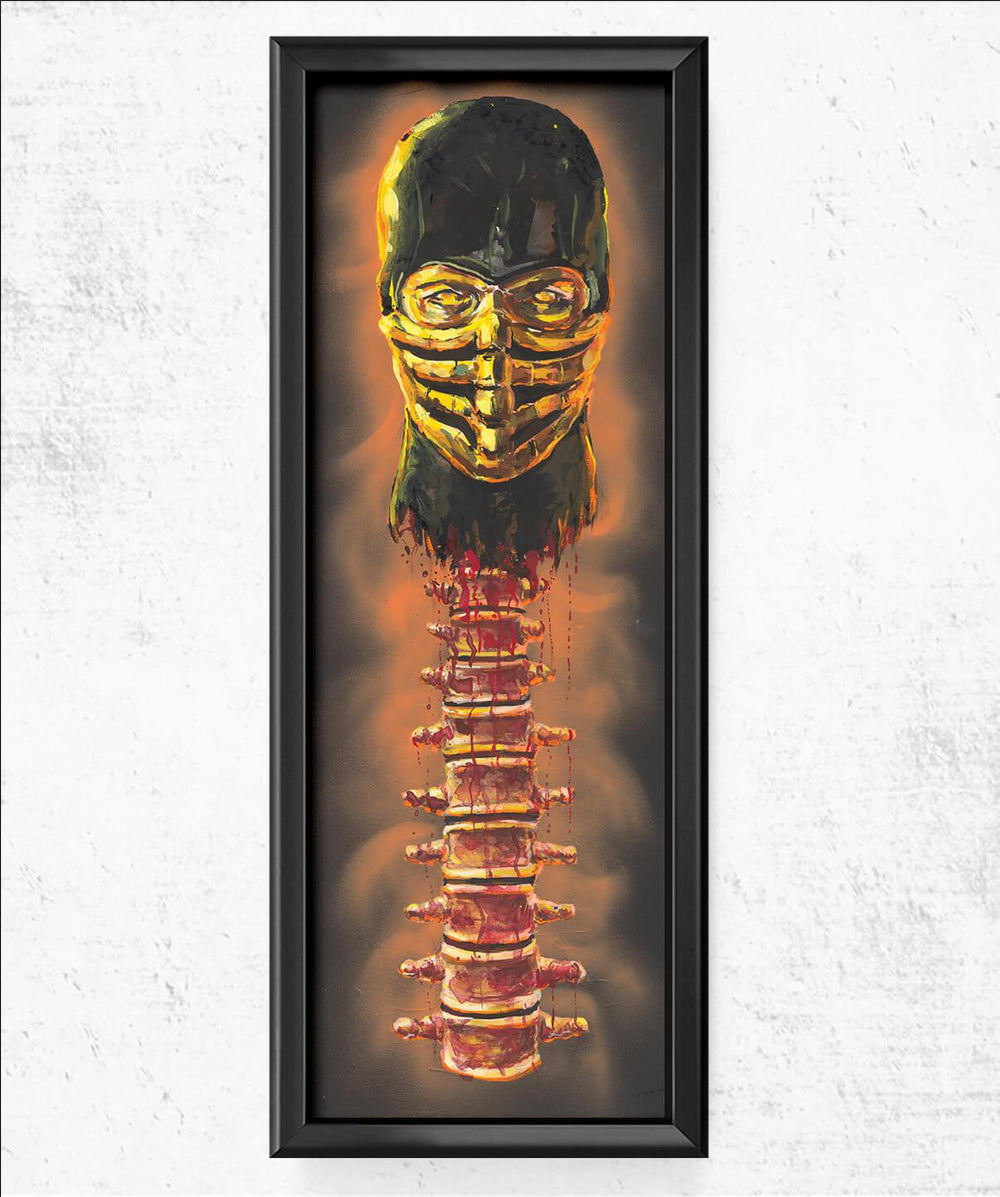 Scorpion Spine Fatality 11.75x36 Posters by Cody James by Cody - Pixel Empire