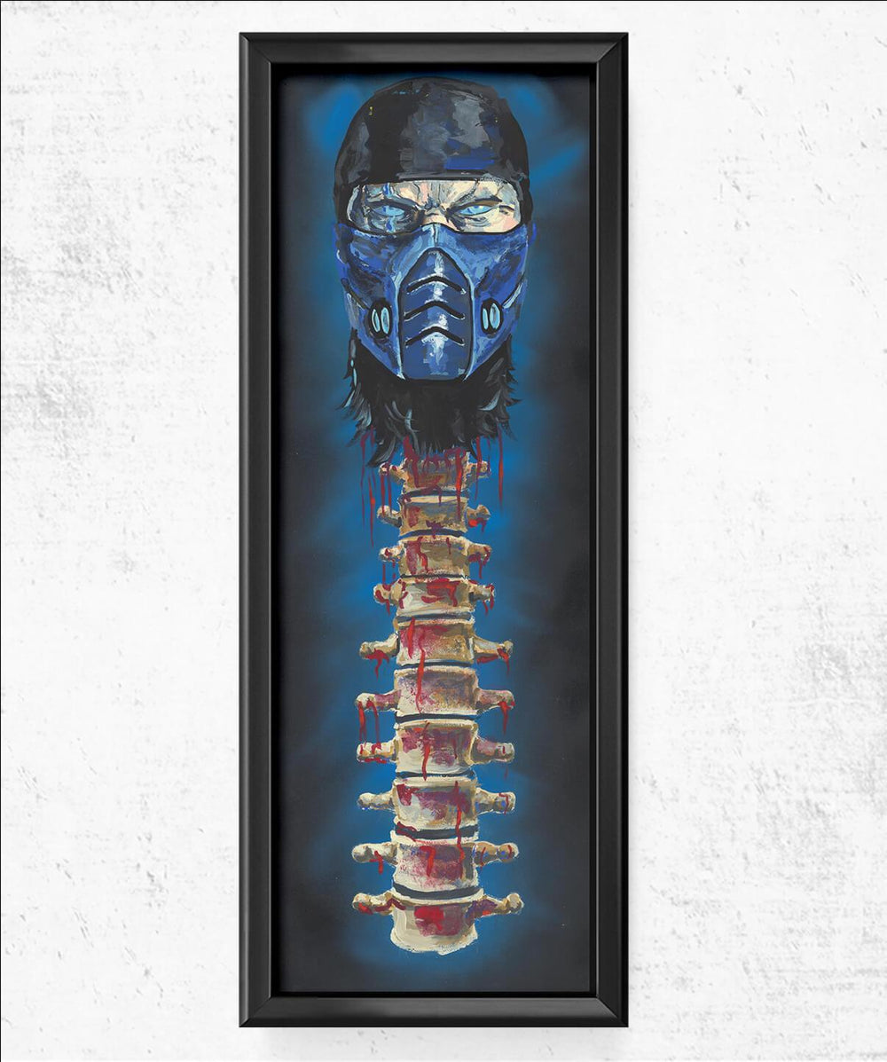 Subzero Spine Fatality 11.75x36 Posters by Cody James by Cody - Pixel Empire