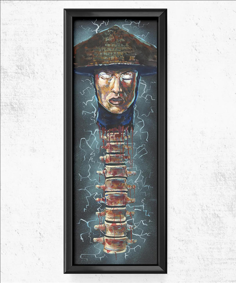 Raiden Spine Fatality 11.75x36 Posters by Cody James by Cody - Pixel Empire