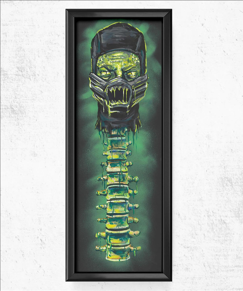 Reptile Spine Fatality 11.75x36 Posters by Cody James by Cody - Pixel Empire