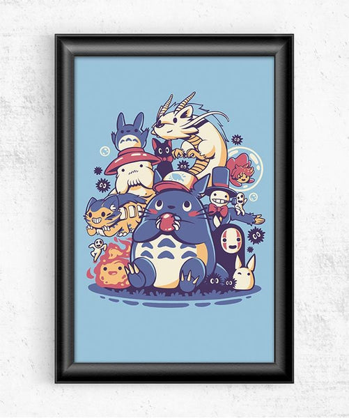 Creatures Spirits and Friends Posters by Ilustrata - Pixel Empire