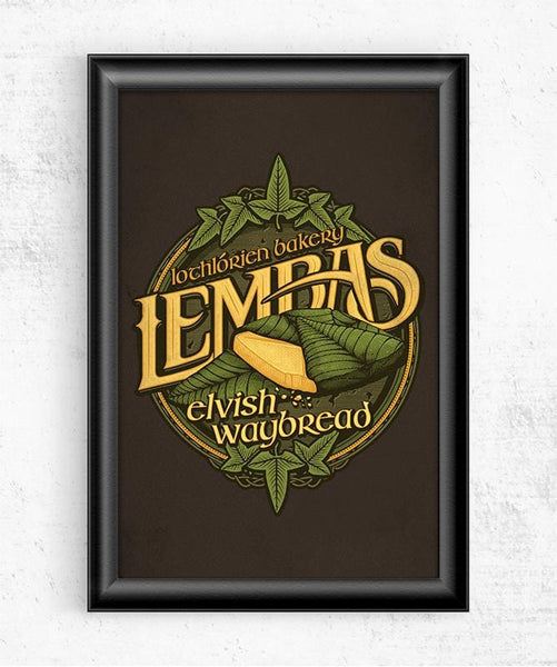 Lembas Bread Posters by Cory Freeman Design - Pixel Empire