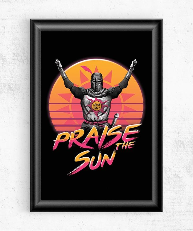 Praise the Sunset Wave Posters by Vincent Trinidad - Pixel Empire