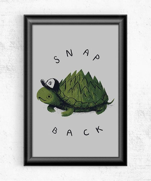 Snap Back Posters by Louis Roskosch - Pixel Empire