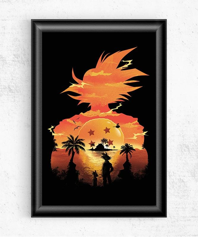 Beautiful Sunset Posters by Dan Elijah Fajardo - Pixel Empire