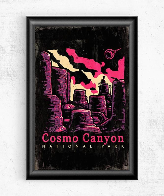 Cosmo Canyon Posters by Ronan Lynam - Pixel Empire
