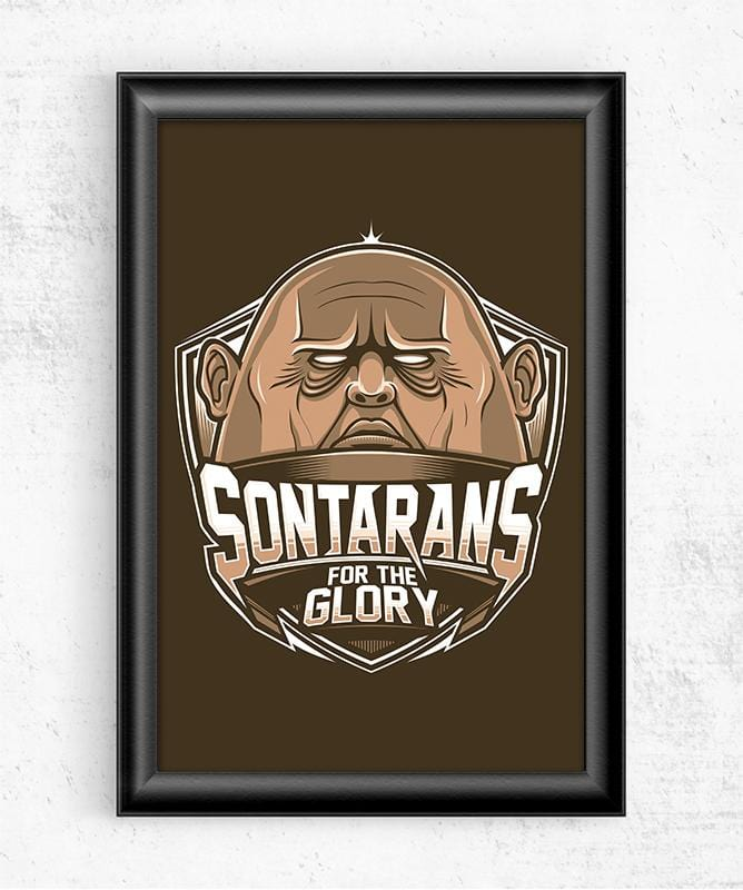 Doctor Who Villains - Sontarans Posters by StudioM6 - Pixel Empire
