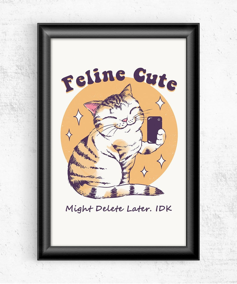 Feline Cute Posters by Vincent Trinidad - Pixel Empire