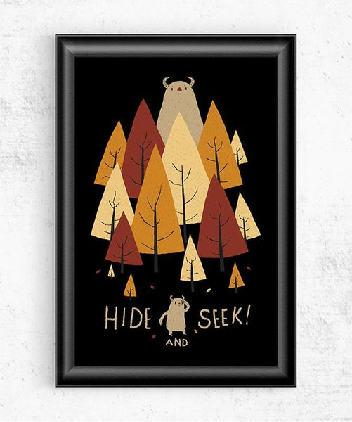 Hide and Seek Posters by Louis Roskosch - Pixel Empire