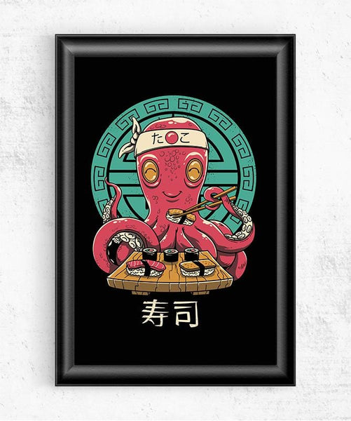 Octo Sushi Posters by Vincent Trinidad - Pixel Empire