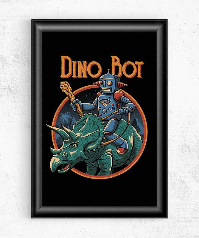Dino Bot 2 Posters by Vincent Trinidad - Pixel Empire