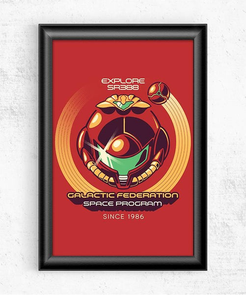 Galactic Federation Posters by Ilustrata - Pixel Empire