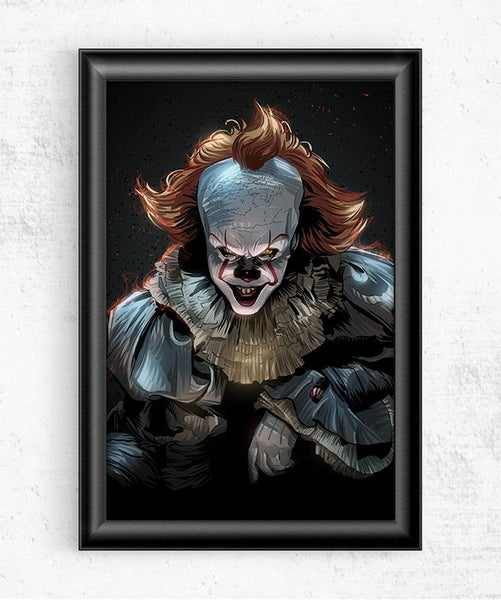 Pennywise Posters by Nikita Abakumov - Pixel Empire