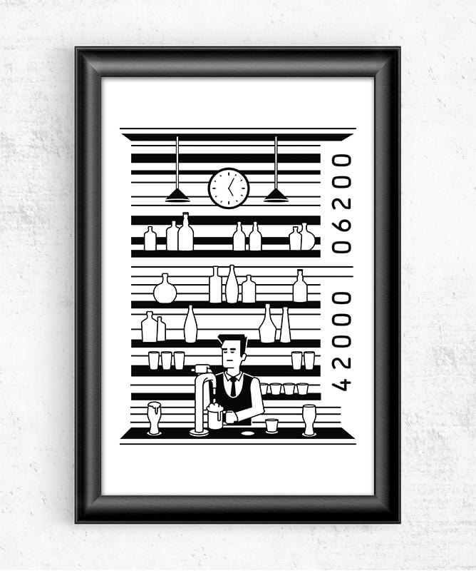 Bar Code Posters by Grant Shepley - Pixel Empire