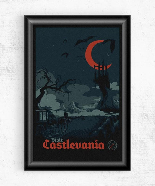 Visit Castlevania Posters by Mathiole - Pixel Empire