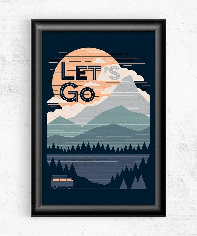 Let's Go Posters by Rick Crane - Pixel Empire