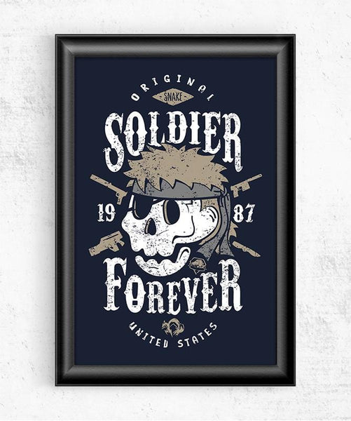 Soldier Forever Posters by Olipop - Pixel Empire