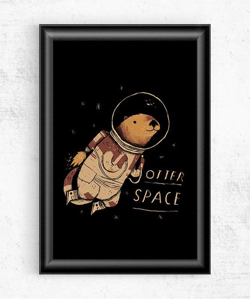Otter Space Posters by Louis Roskosch - Pixel Empire