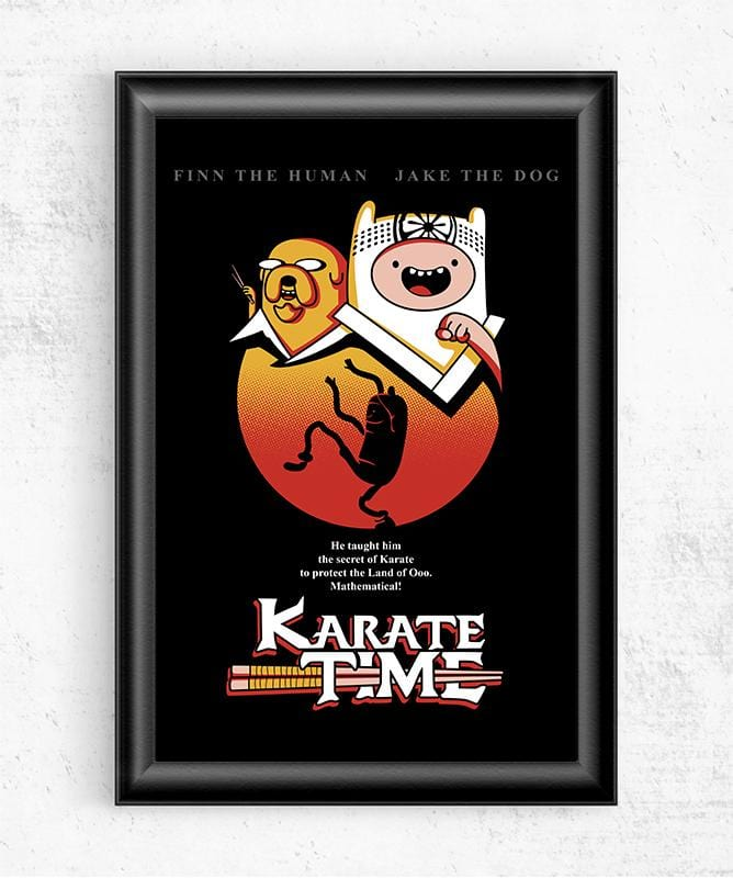 Karate Time Posters by Olipop - Pixel Empire