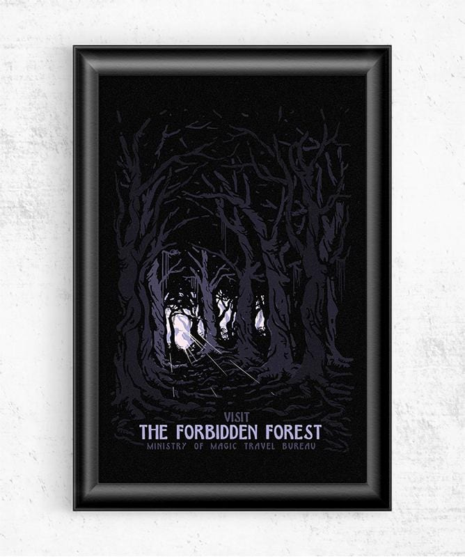 Visit the Forbidden Forest Posters by Mathiole - Pixel Empire