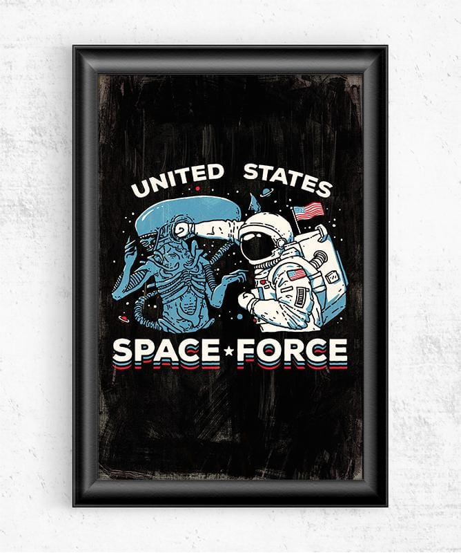 Space Force Posters by Ronan Lynam - Pixel Empire
