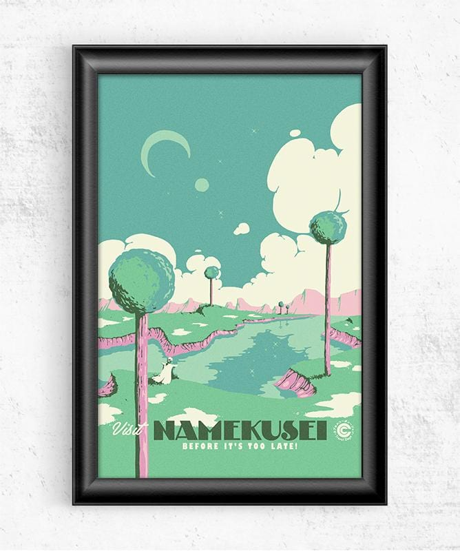 Visit Namekusei Posters by Mathiole - Pixel Empire