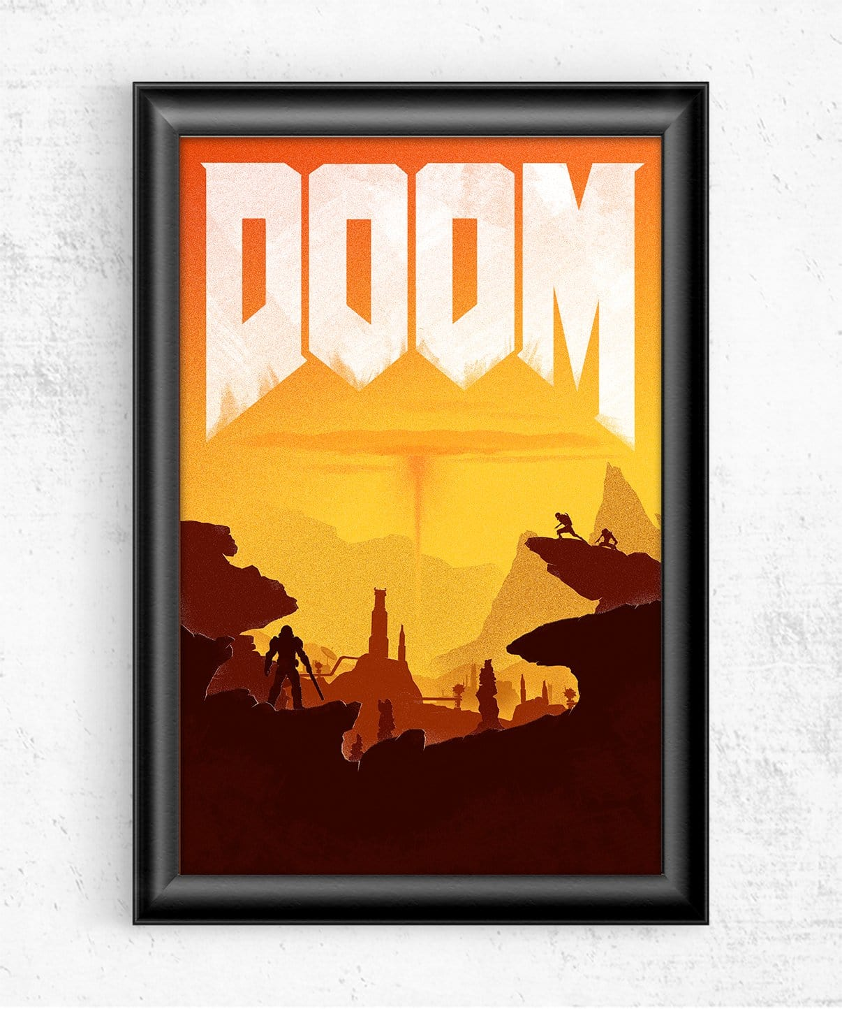 Doom Posters by Felix Tindall - Pixel Empire
