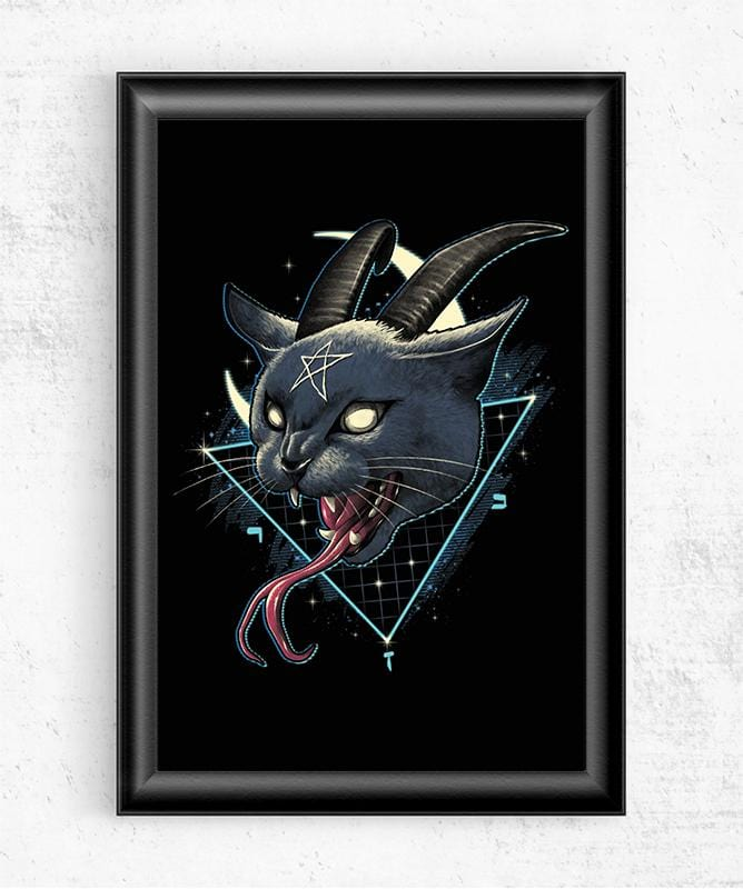 Rad Devil Cat Posters by Vincent Trinidad - Pixel Empire