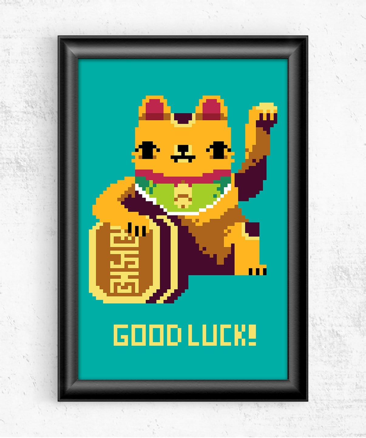 Good Luck Posters by Louis Roskosch - Pixel Empire