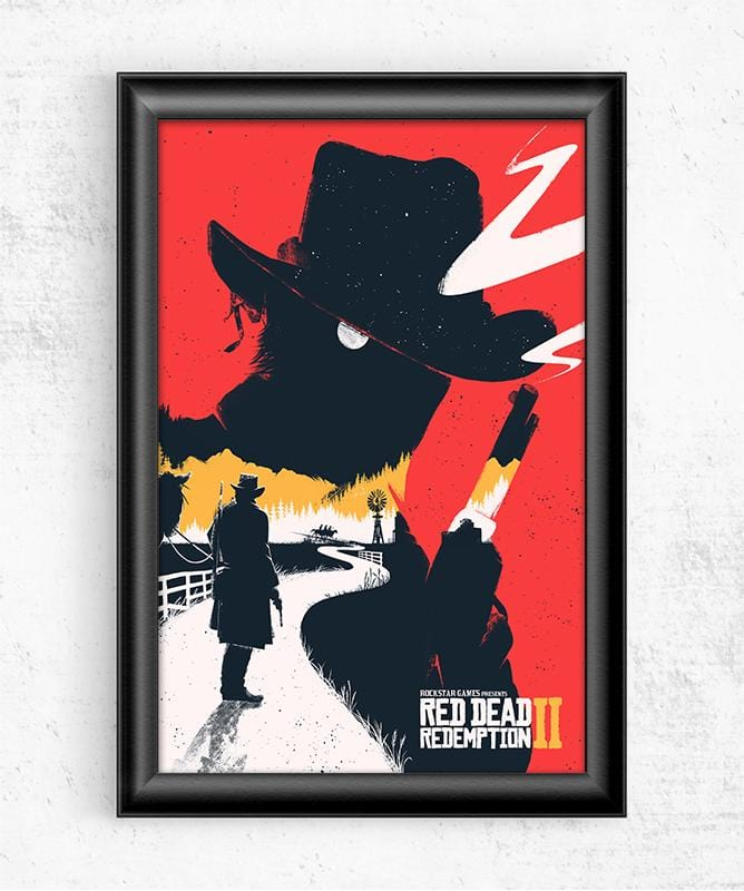 Red Dead Redemption 2 Posters by Felix Tindall - Pixel Empire