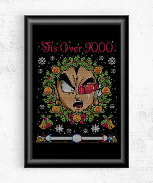Tis Over 9000 Posters by COD Designs - Pixel Empire
