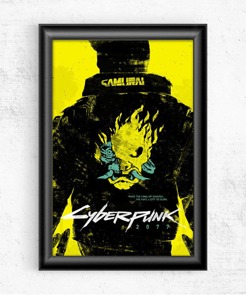 Cyberpunk 2077 Posters by Felix Tindall - Pixel Empire