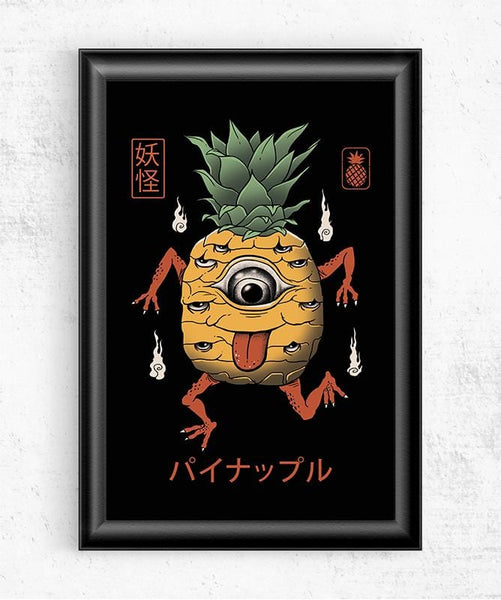 Yokai Pineapple Posters by Vincent Trinidad - Pixel Empire
