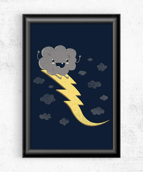 Ride the Lightning Posters by Perry Beane - Pixel Empire
