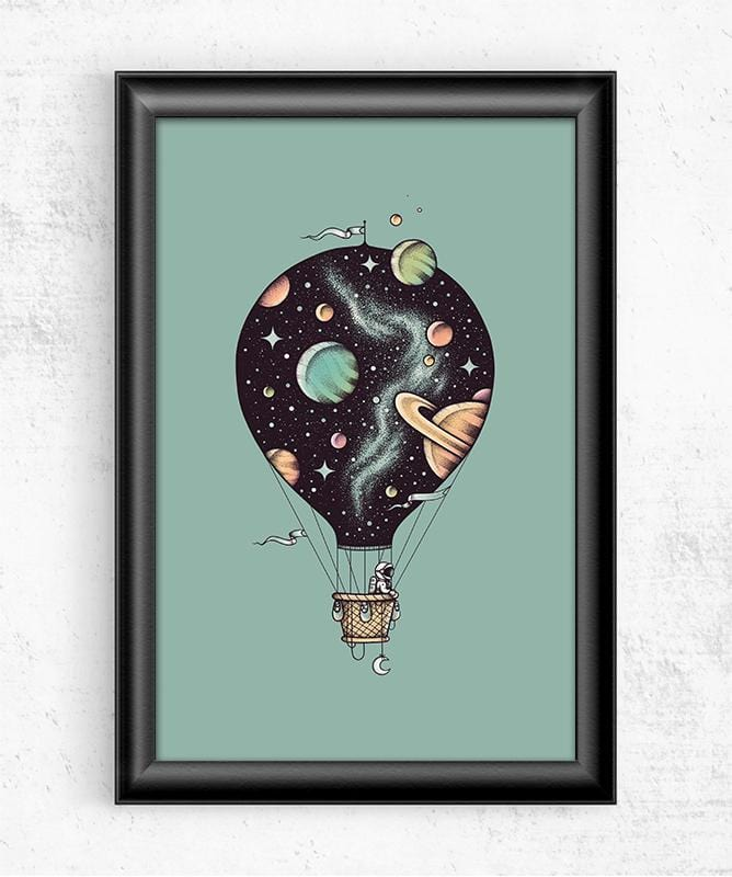 Interstellar Journey Posters by Enkel Dika - Pixel Empire
